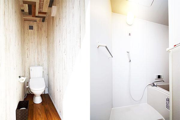 個別トイレ・お風呂